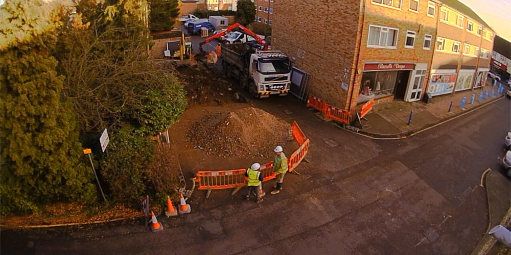 Cuffley – Construction Time Lapse – December