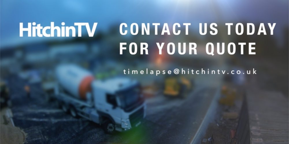Construction Time Lapse Video Production – HitchinTV